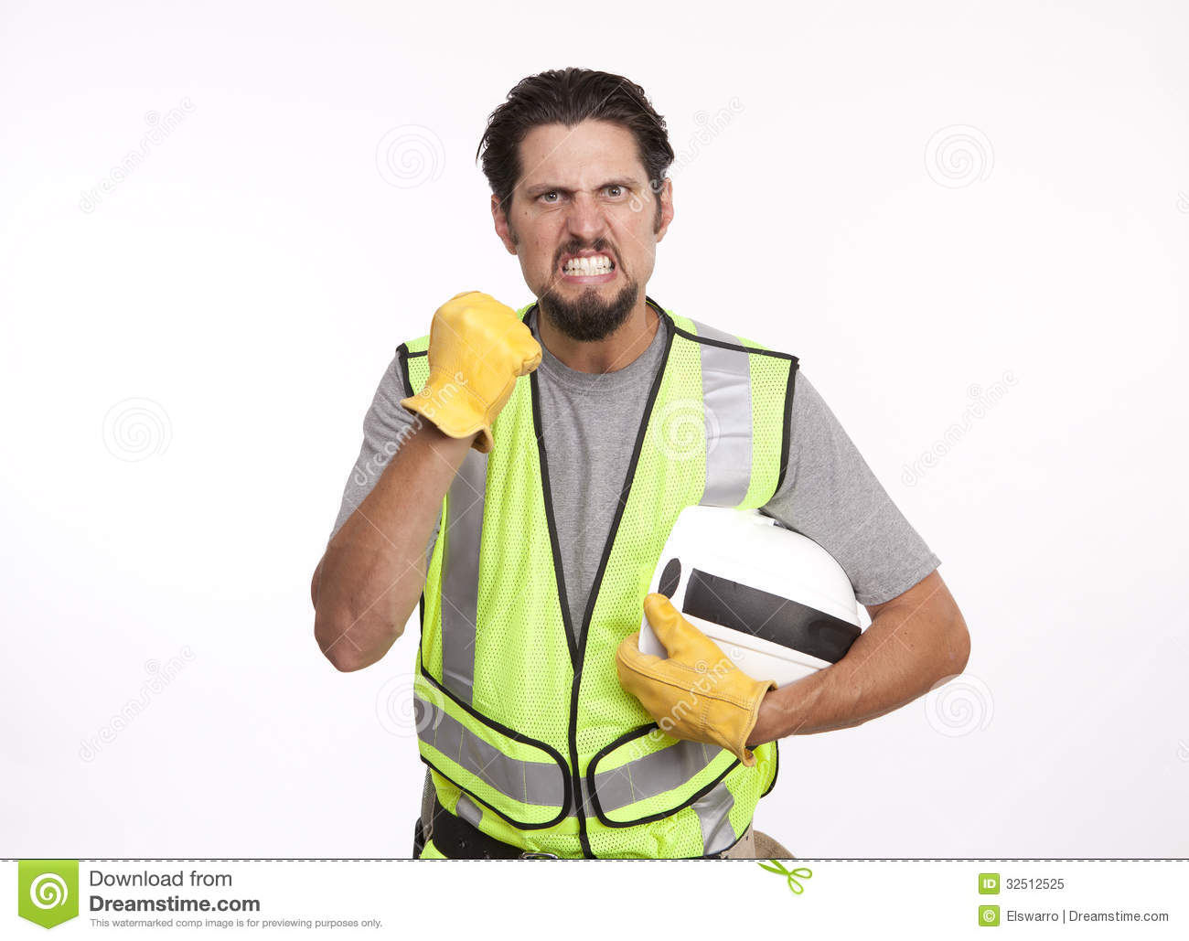 angry worker clipart - photo #29