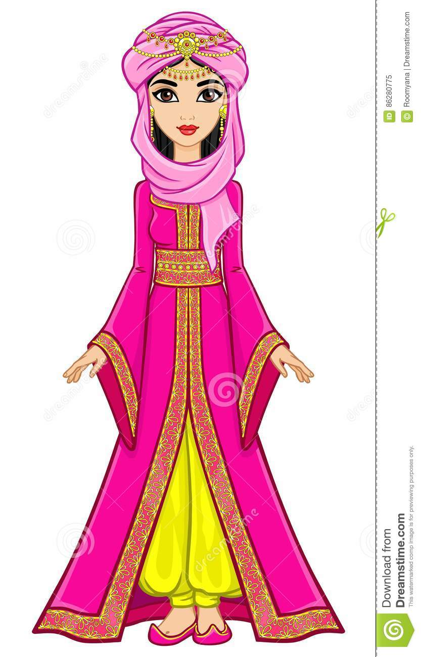 Caftan Cartoons, Illustrations & Vector Stock Images - 34 ...