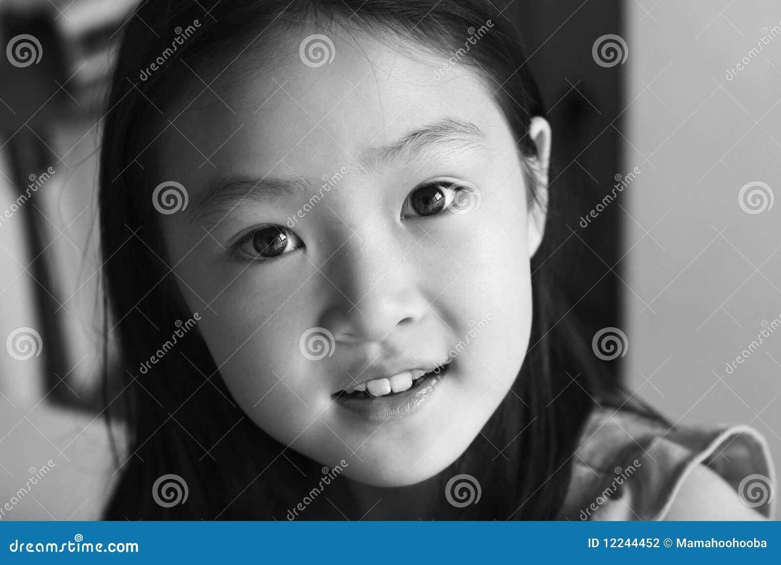 Portrait Asian Child Stock Photography Image 12244452