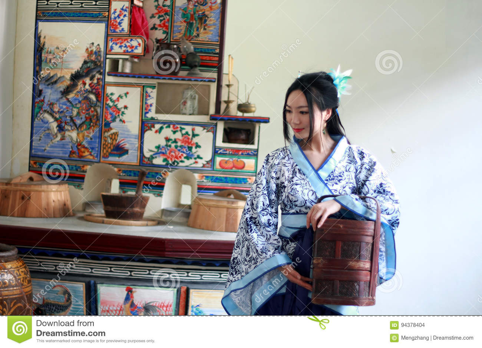 Chinese Traditional Women Elegant Fairy Hanfu Vintage ... |Sweet Elegant Ancient Chinese Girl