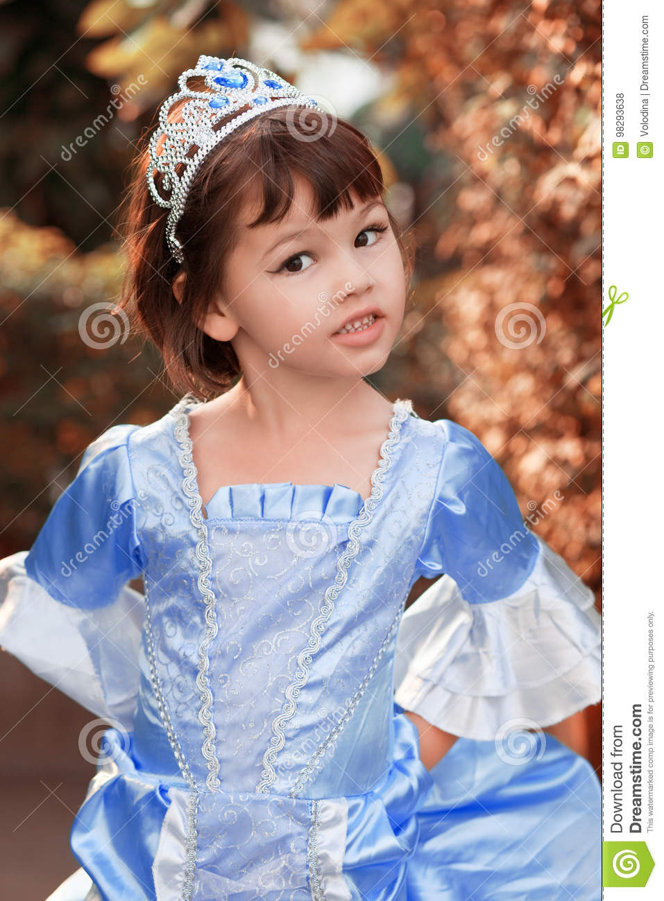 Portrait of the asian girl in princess costume stock photo image jpg  957x1300 Asian princess costume