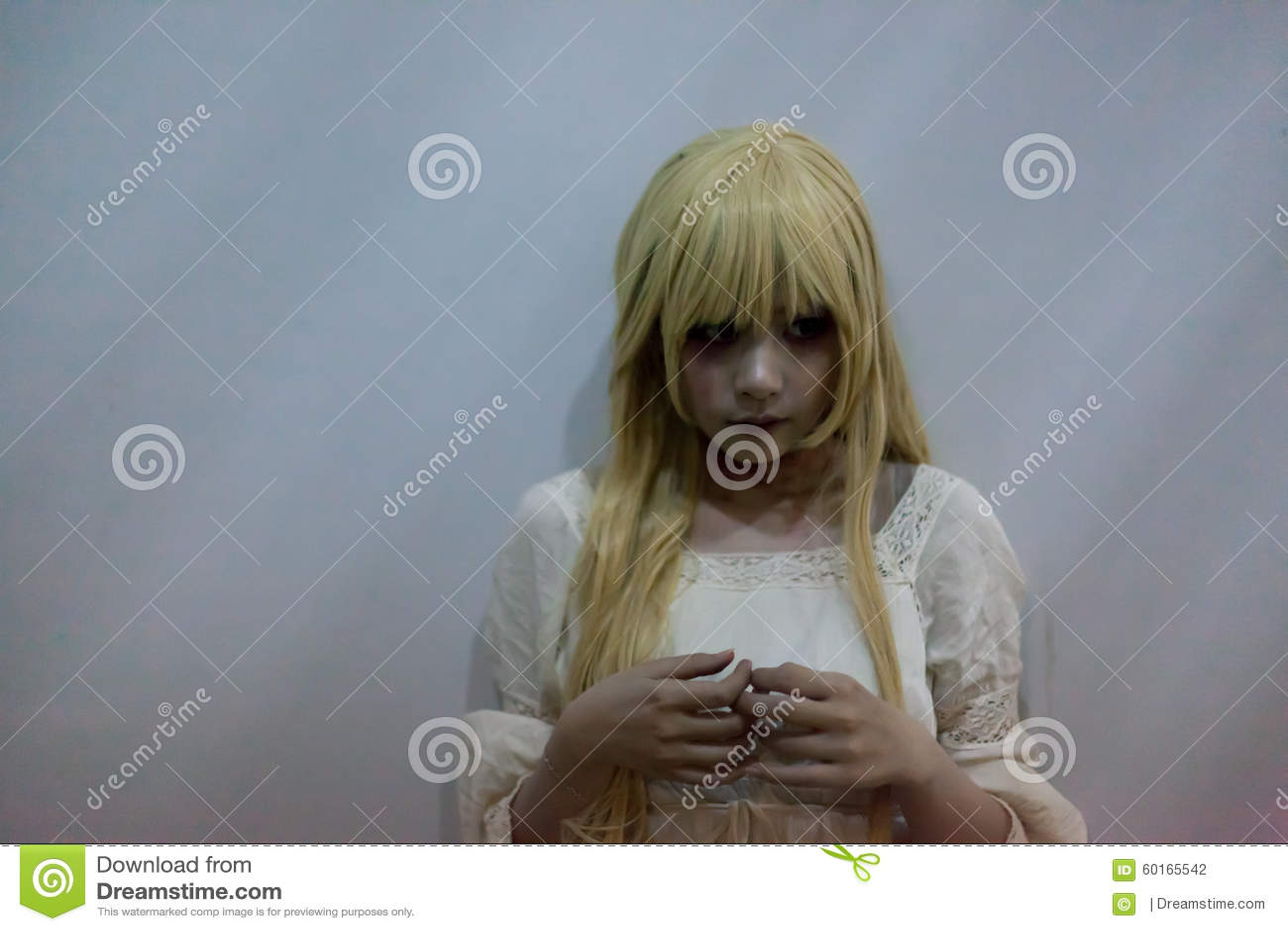 Asian girl halloween