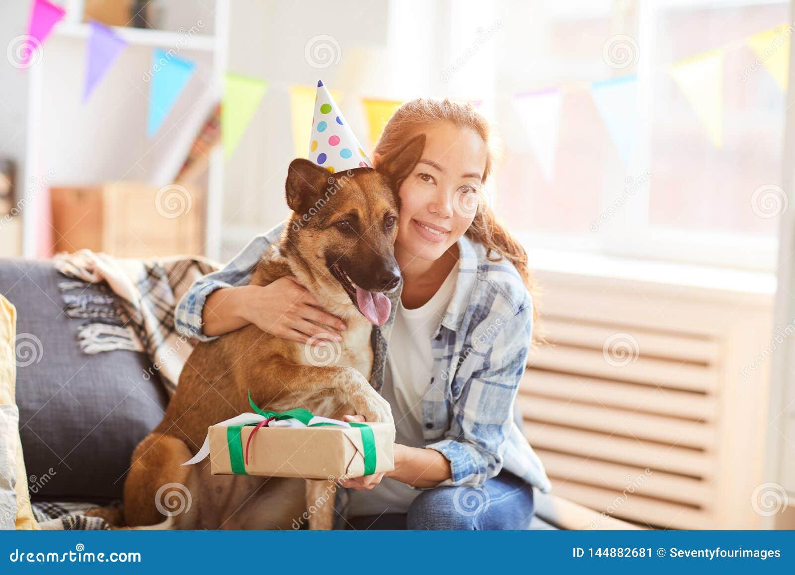 Celebrating Dog Birthday