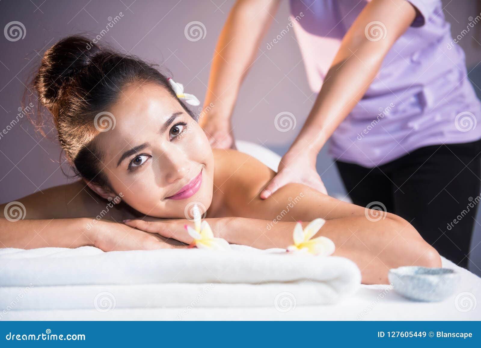 Asian Girl Oiled Massage