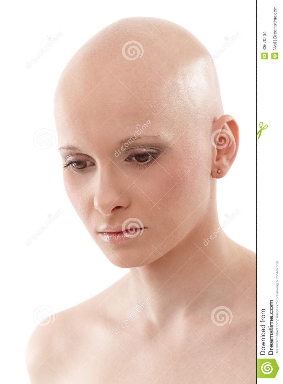 Portrait of bald woman breast cancer awereness stock photo image 33570204 - Mobel bald olpe offnungszeiten ...