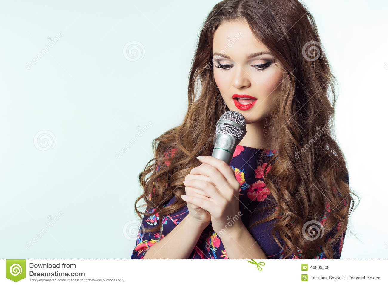 Singing song for girls