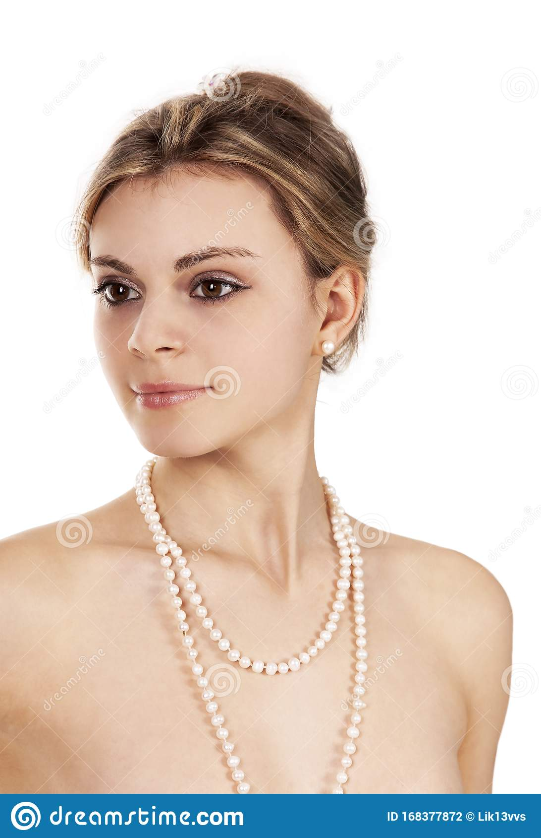 Beautiful naked woman stock image. Image of skin, looking