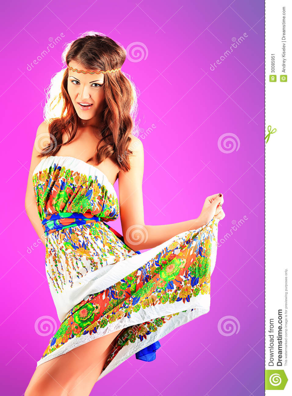 Dress Summer Stock Image Image 30085951