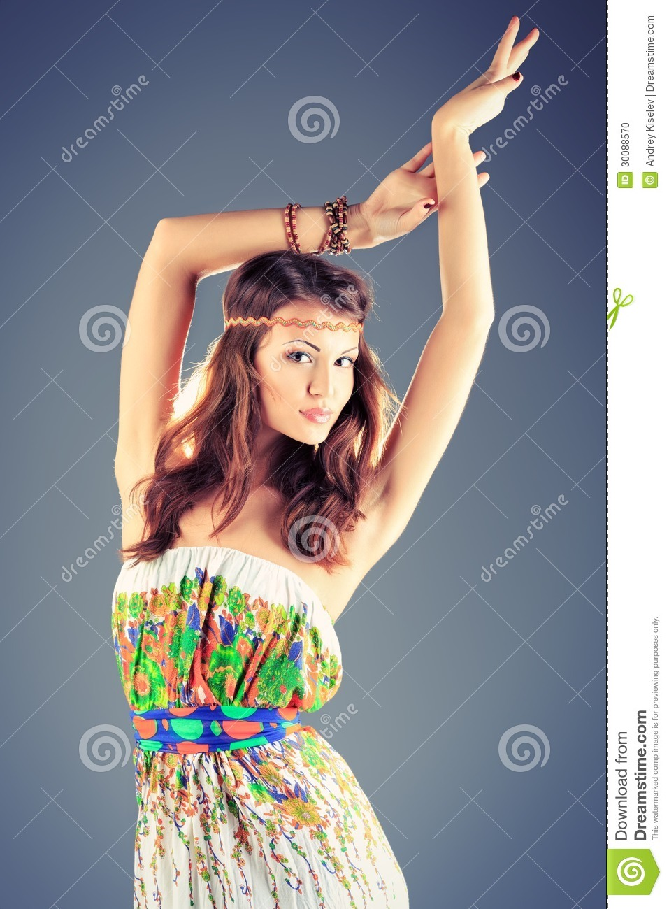Posing Stock Photo Image 30088570