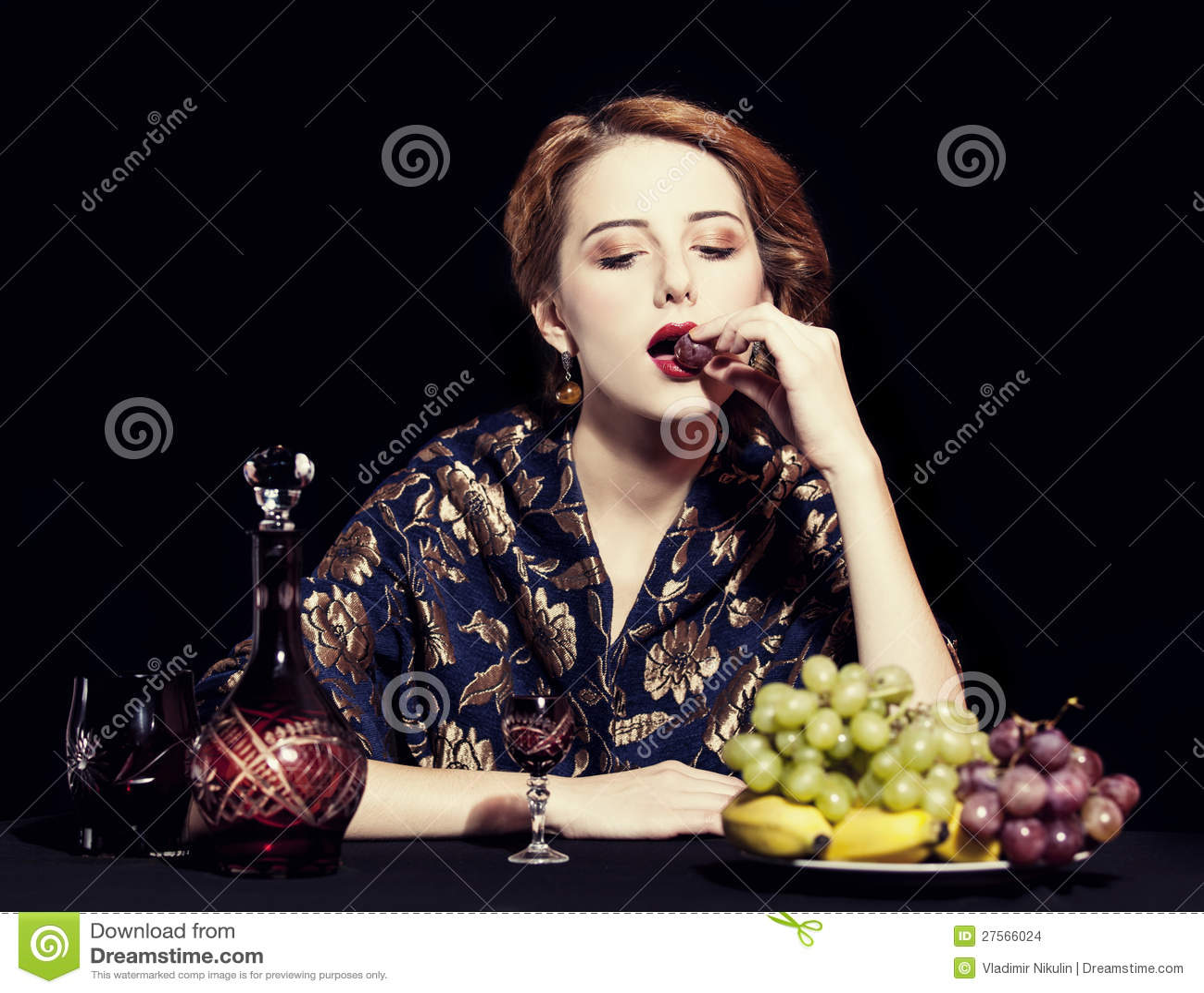 Portrait Of Beautiful Rich Russian Women Stock Photo - Image Of Caucasian, Costume -2809
