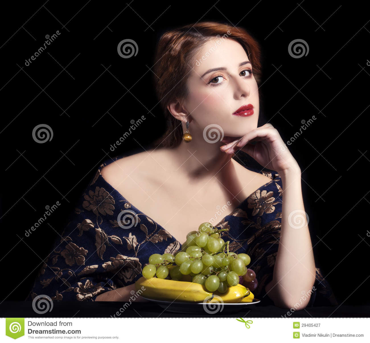 Royalty Free Stock Photography: Portrait of beautiful rich women with ...: dreamstime.com/royalty-free-stock-photography-portrait-beautiful...