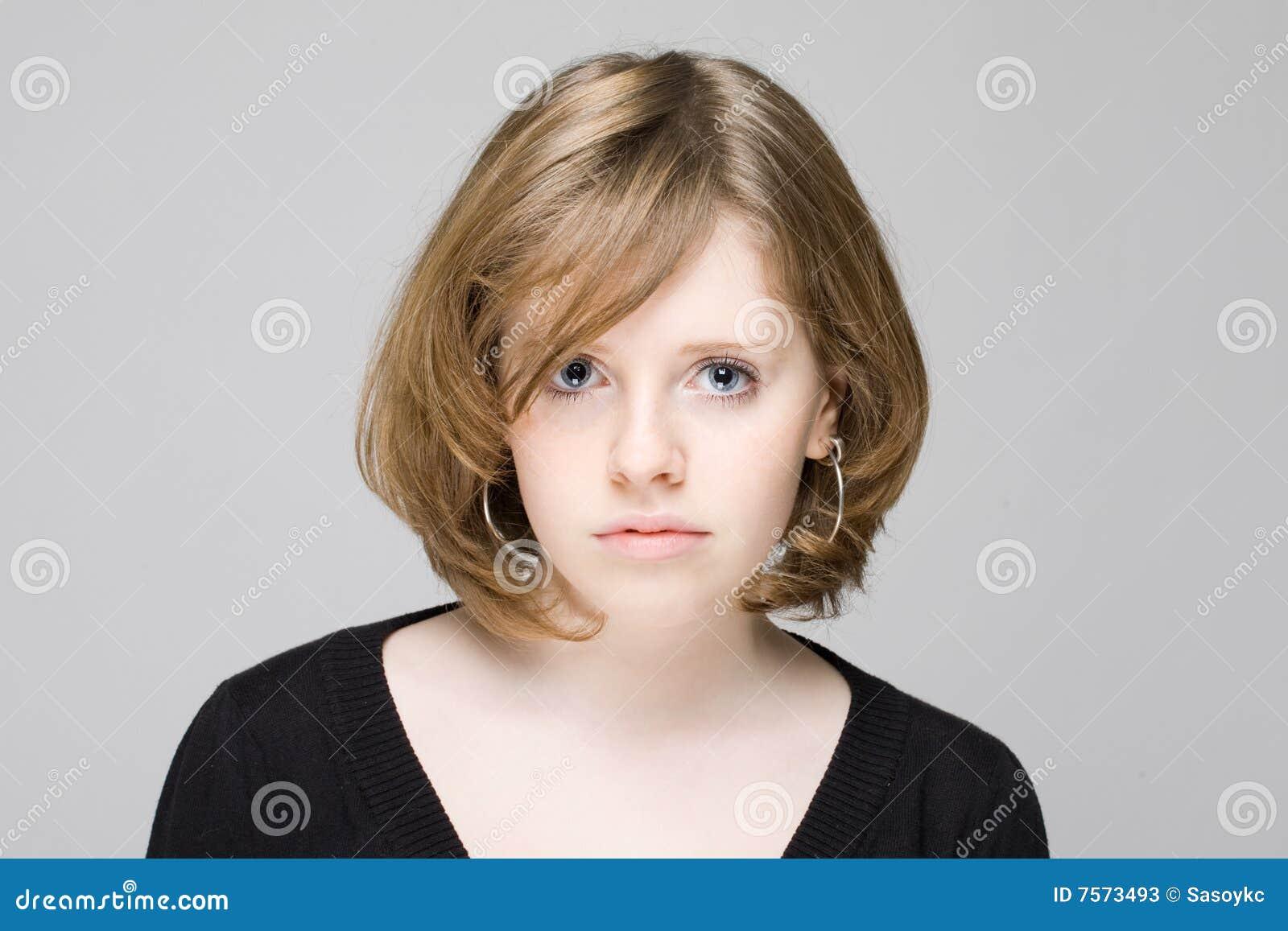 Portrait Of Beautiful Teen Model 17