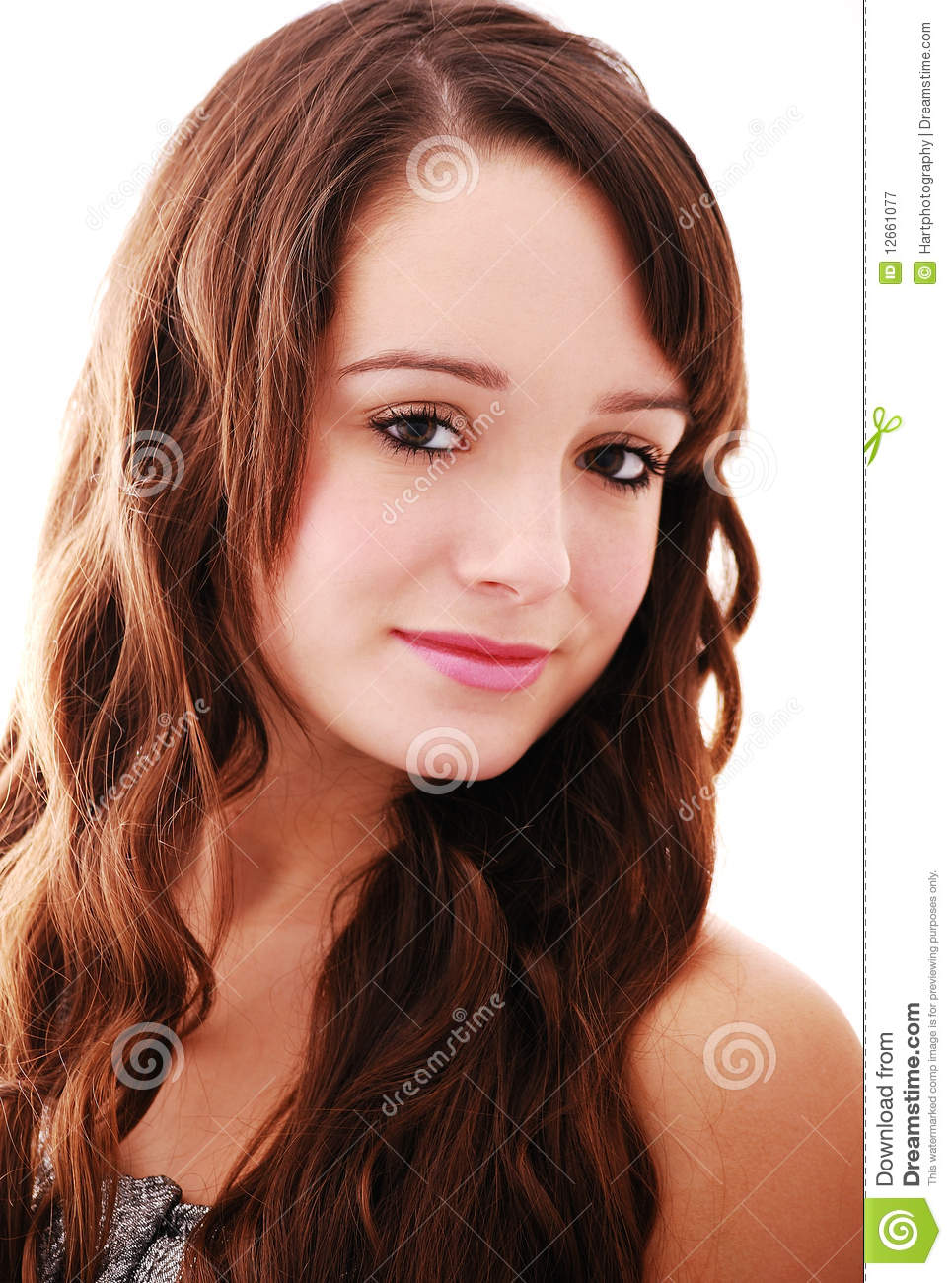 Portrait of beautiful teenager