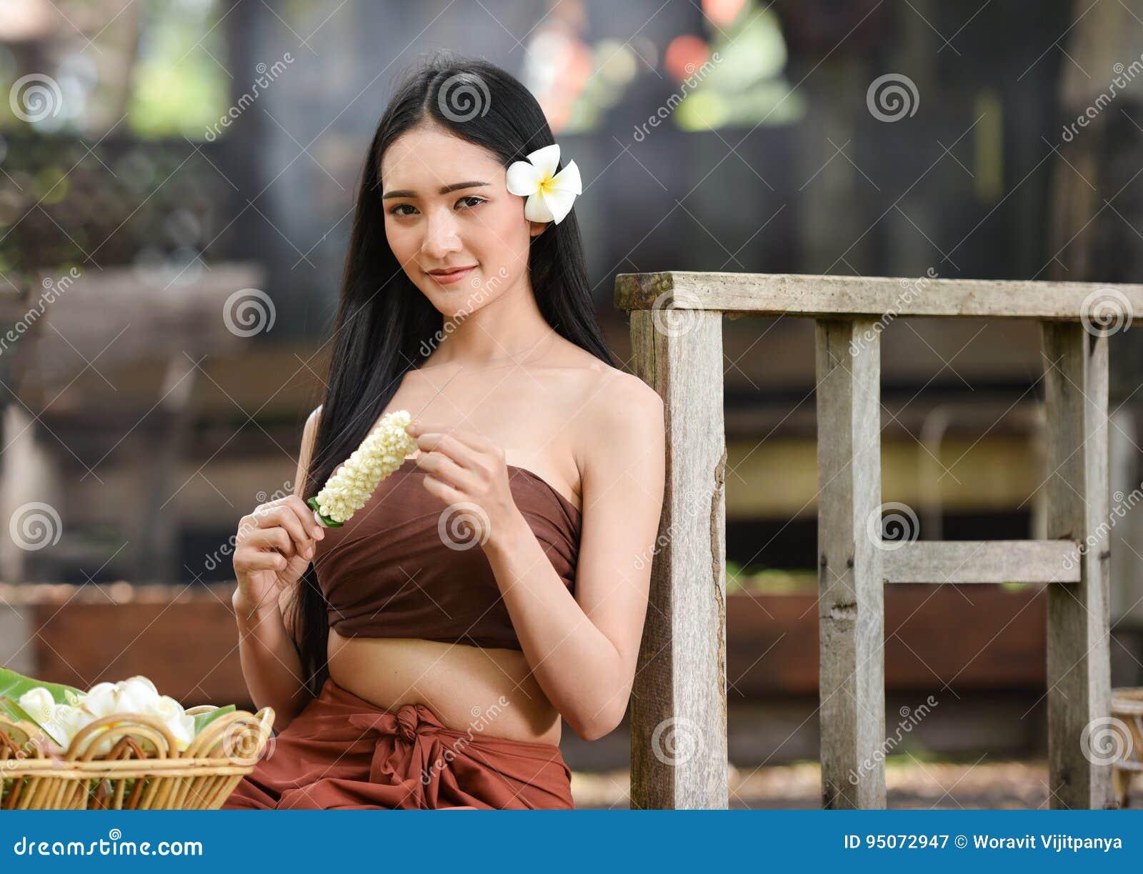 Thailand beautiful girl image-8291
