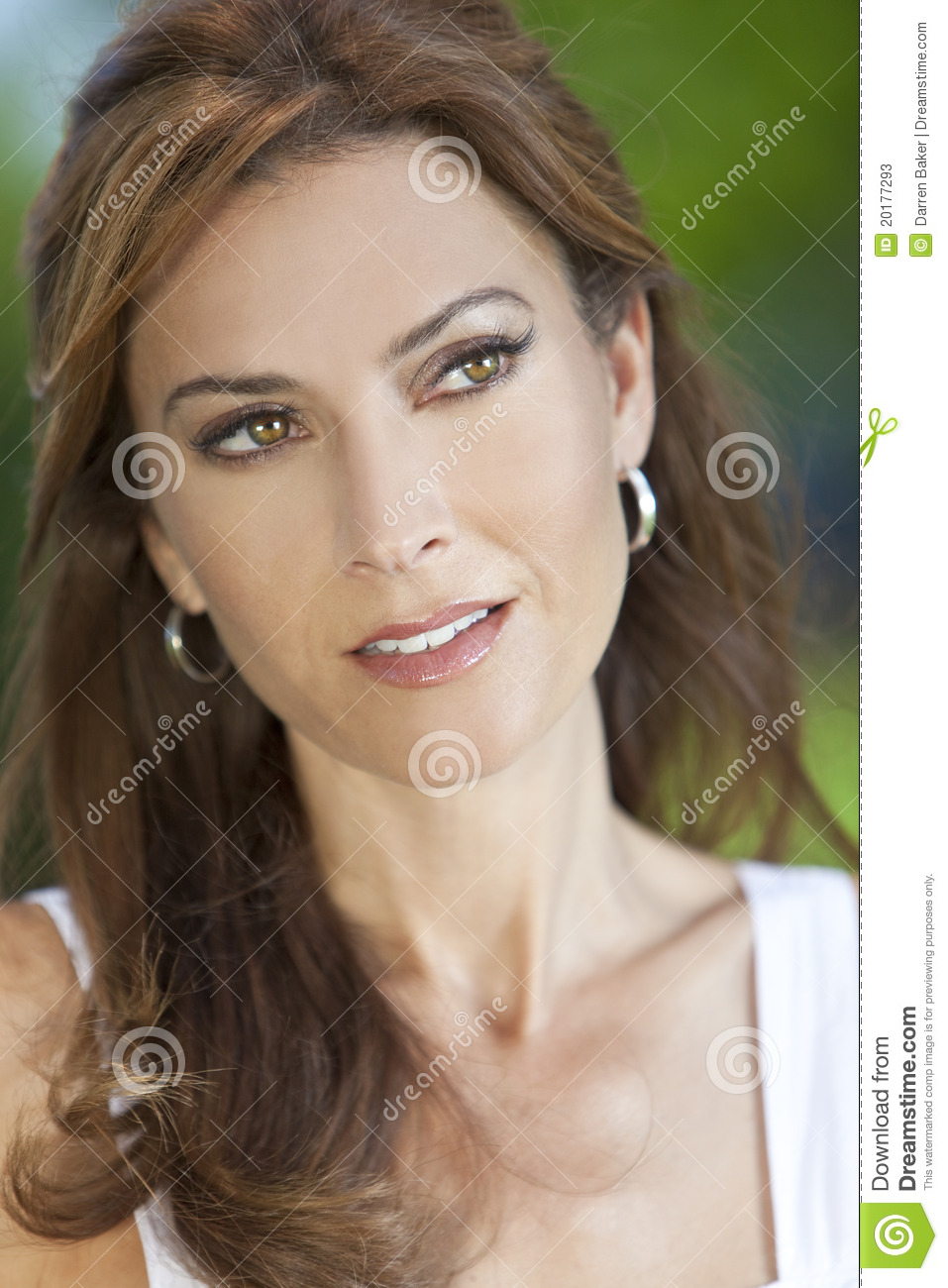 Portrait of Beautiful Young Woman In Her Thirties
