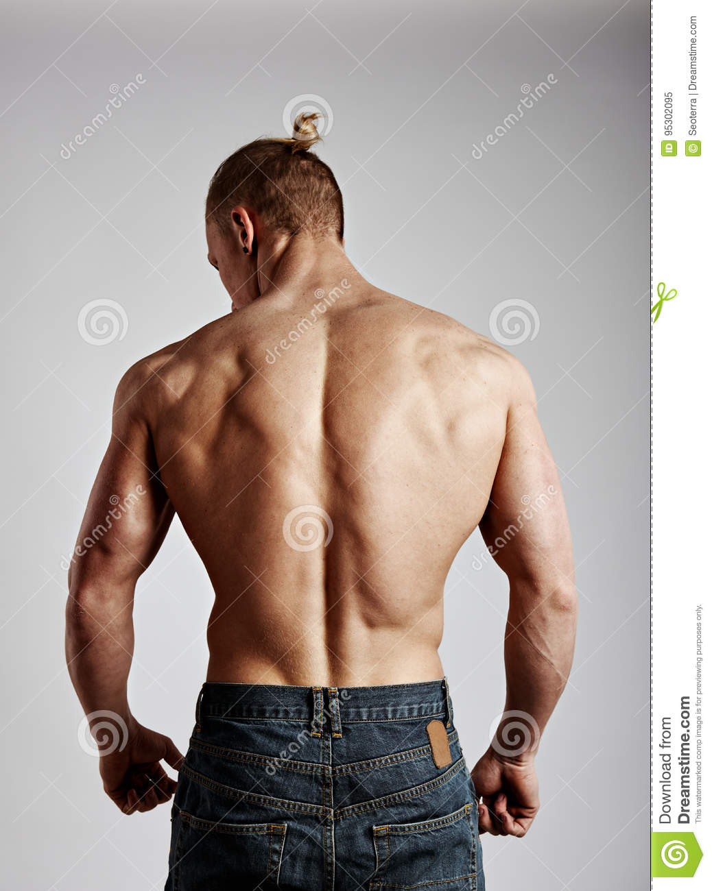 Share your naked man back view would