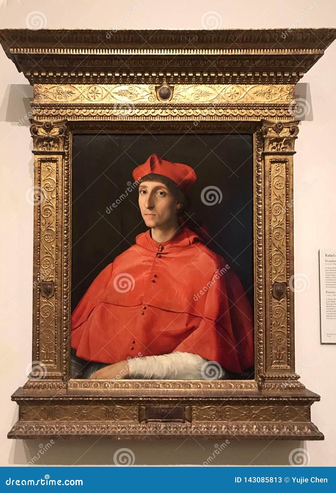 Portrait of a Cardinal