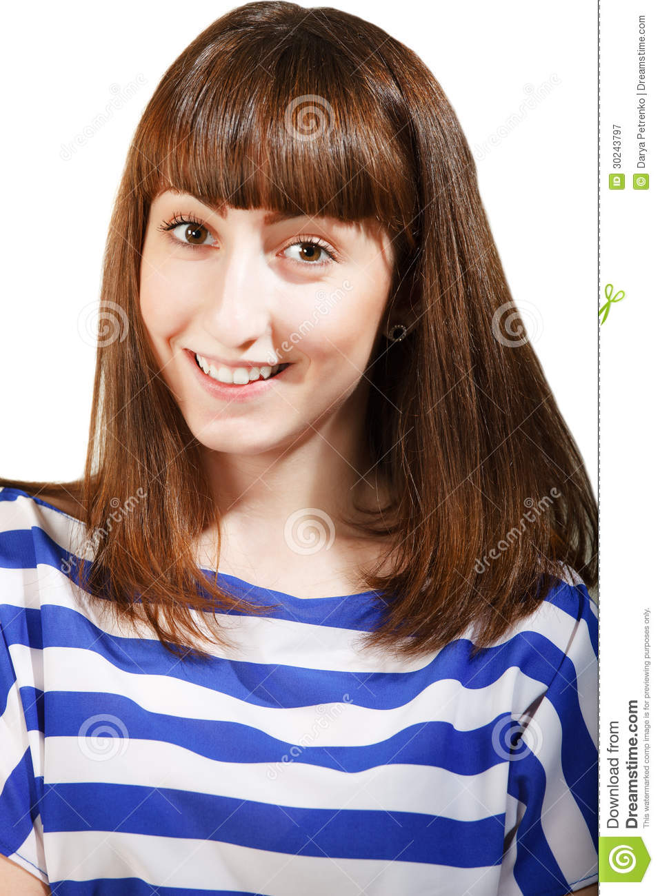 Portrait of a charming young teen girl royalty free stock photography image 30243797 - Charming teenage girls image ...