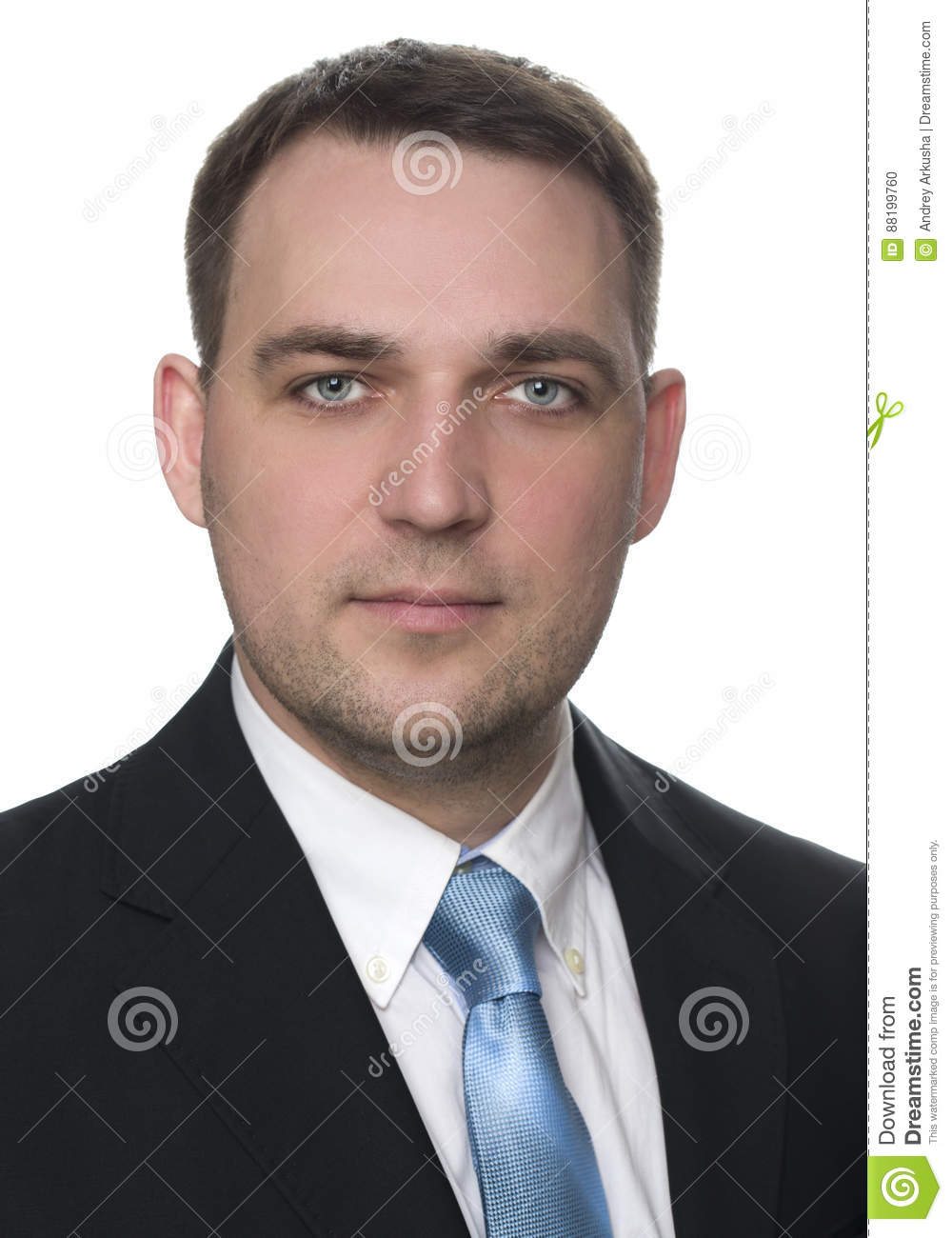 Portrait of a cheerful businessman