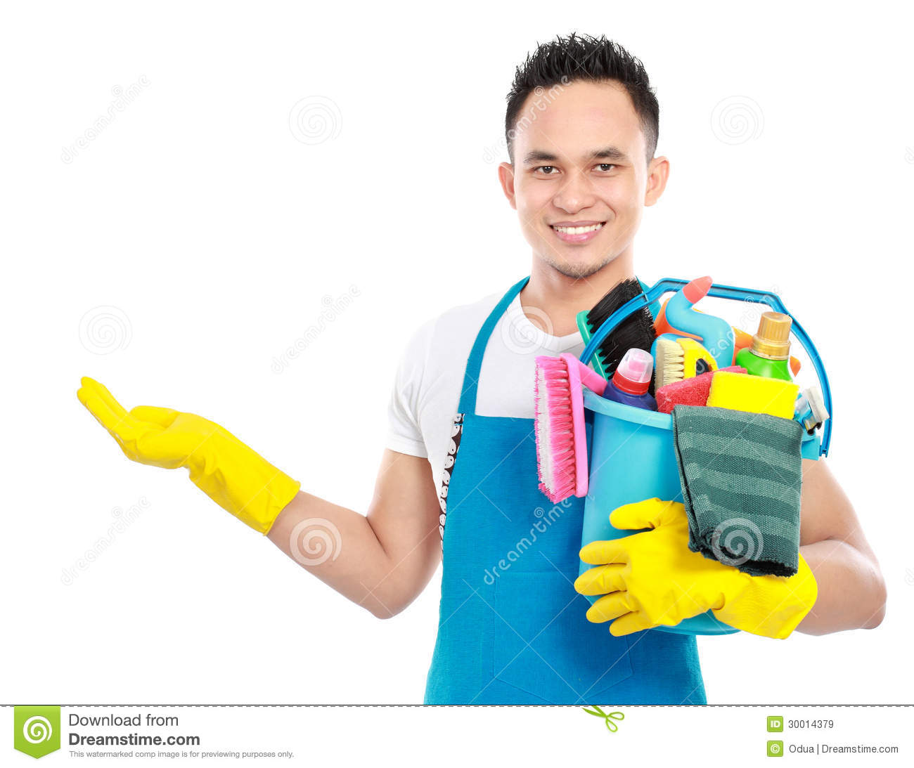 Cleaning Service Royalty Free Stock Images Image 30014379