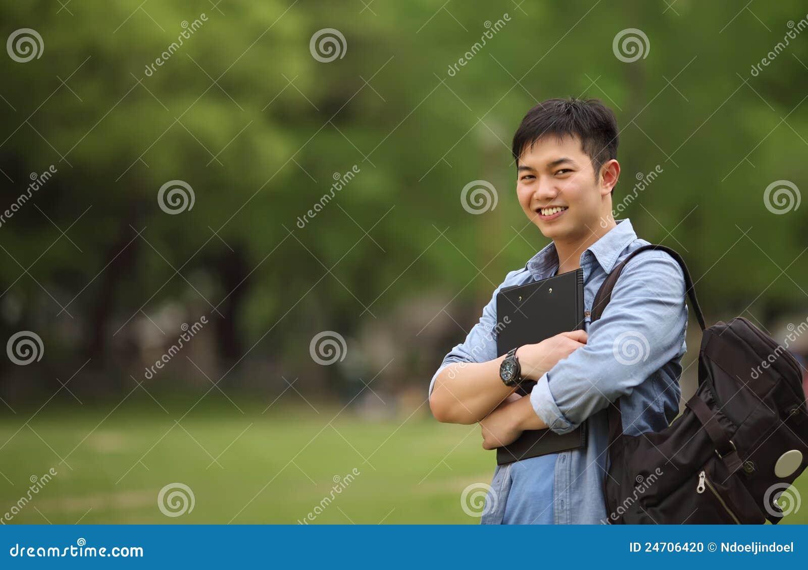 Portrait college student