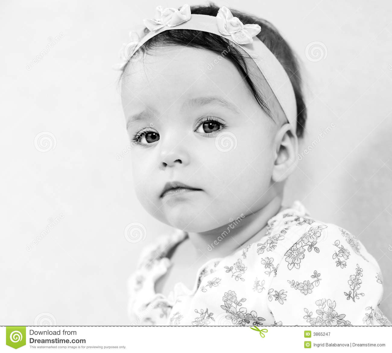 portrait of cute baby - photo #22
