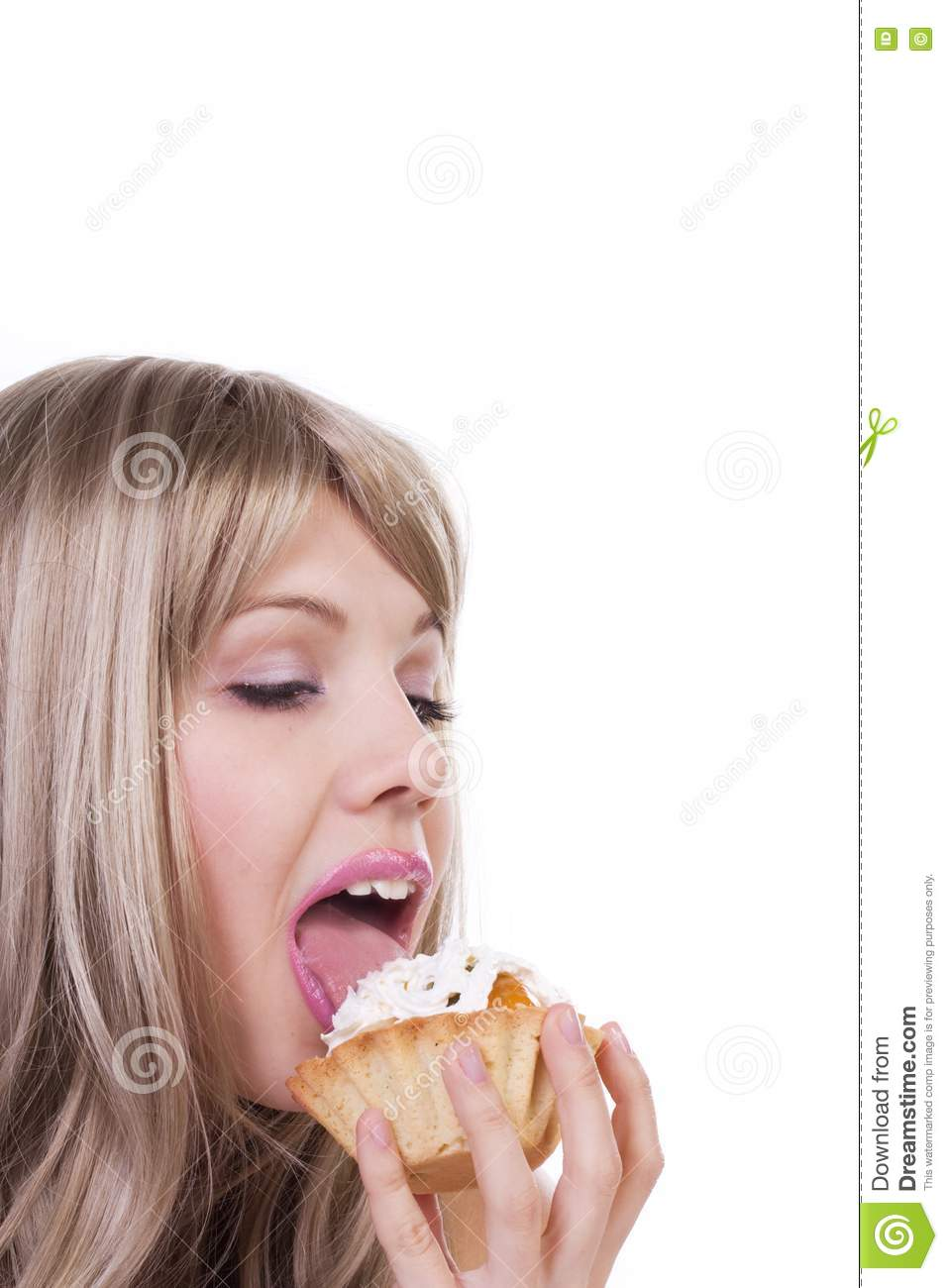 girl naked licking ice cream cone