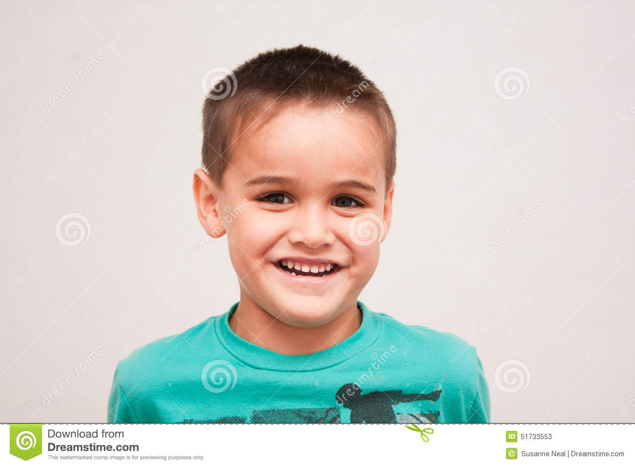 Incredible Portrait Of Cute Four Year Old Boy With Short Haircut Stock Photo Short Hairstyles Gunalazisus