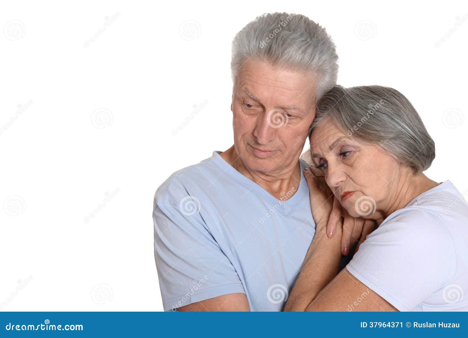 Portrait d un couple plus ancien
