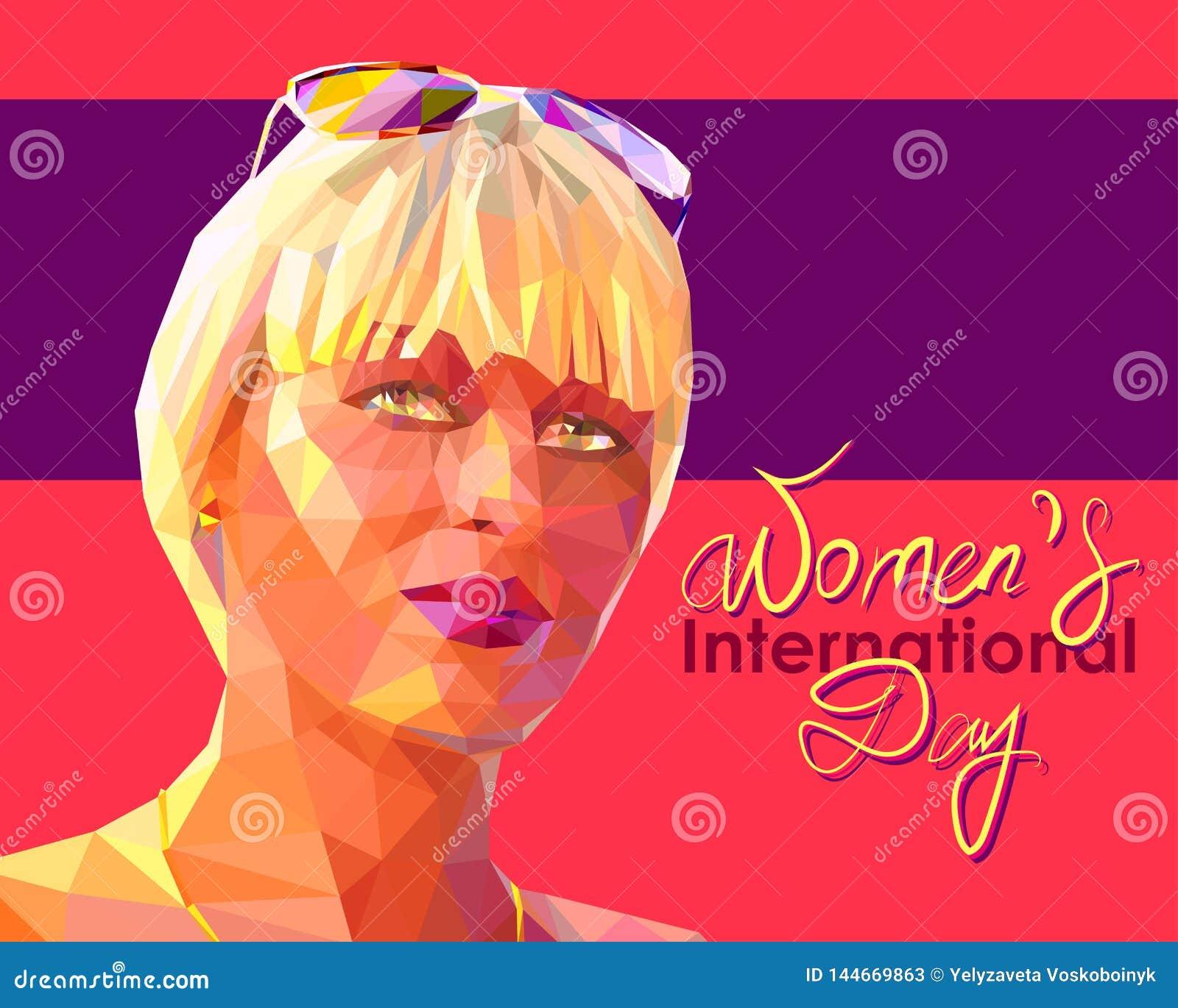 Portrait d une jeune femme blonde attirante