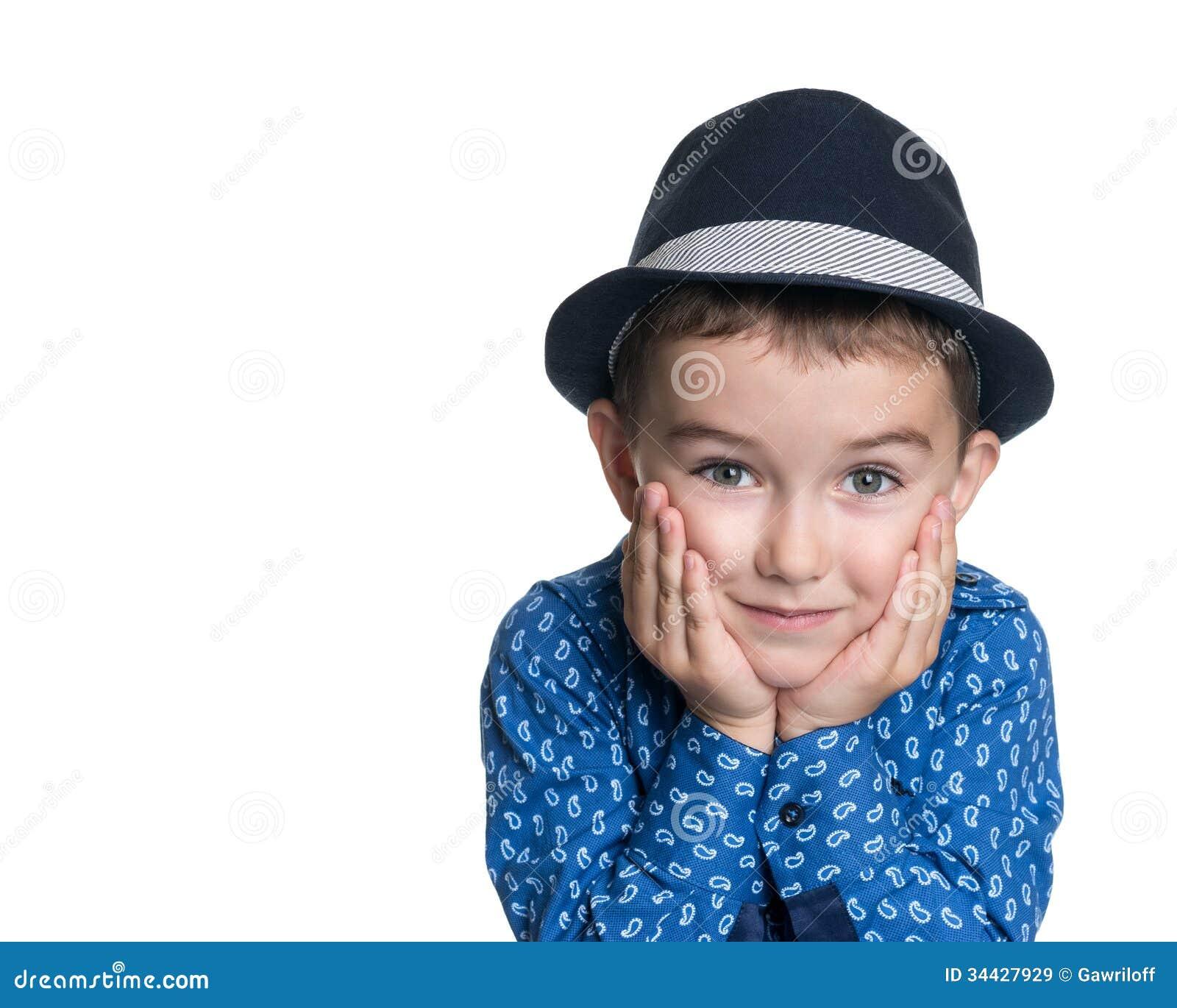 Portrait de beau petit gar on joyeux heureux images libres de droits image 34427929 - Bureau petit garcon ...