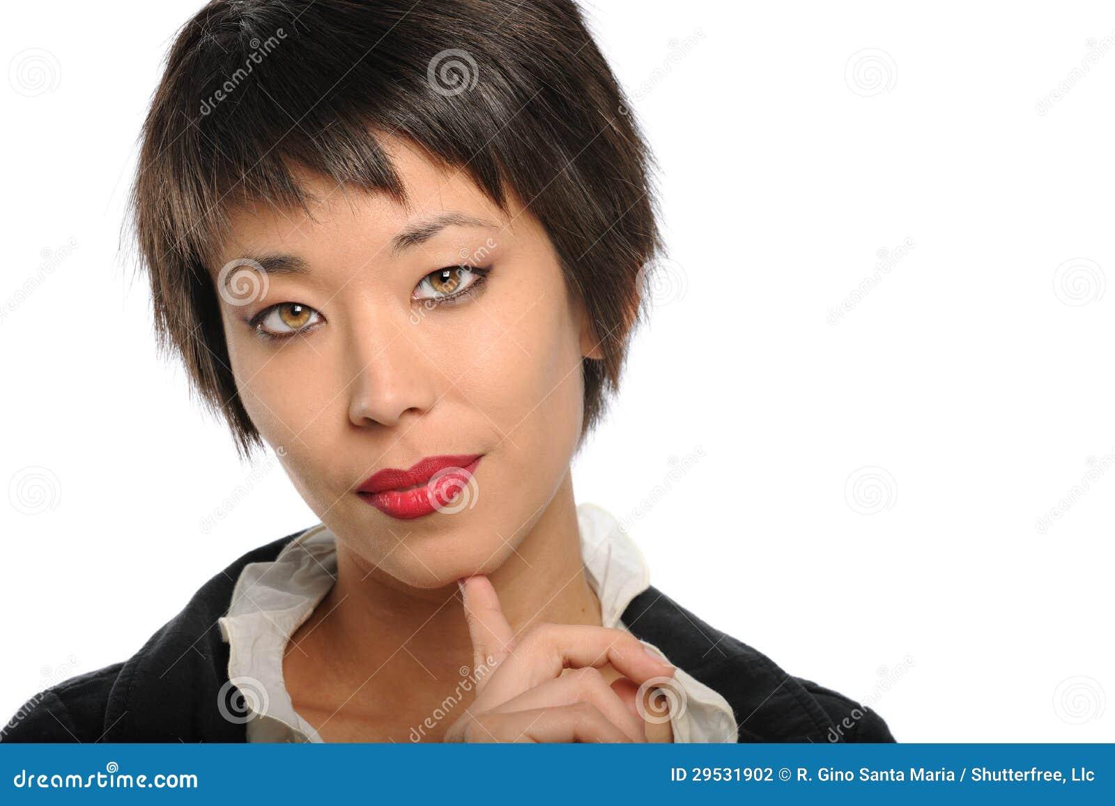 portrait de femme d 39 affaires asiatique photo stock image du am ricain asiatique 29531902. Black Bedroom Furniture Sets. Home Design Ideas