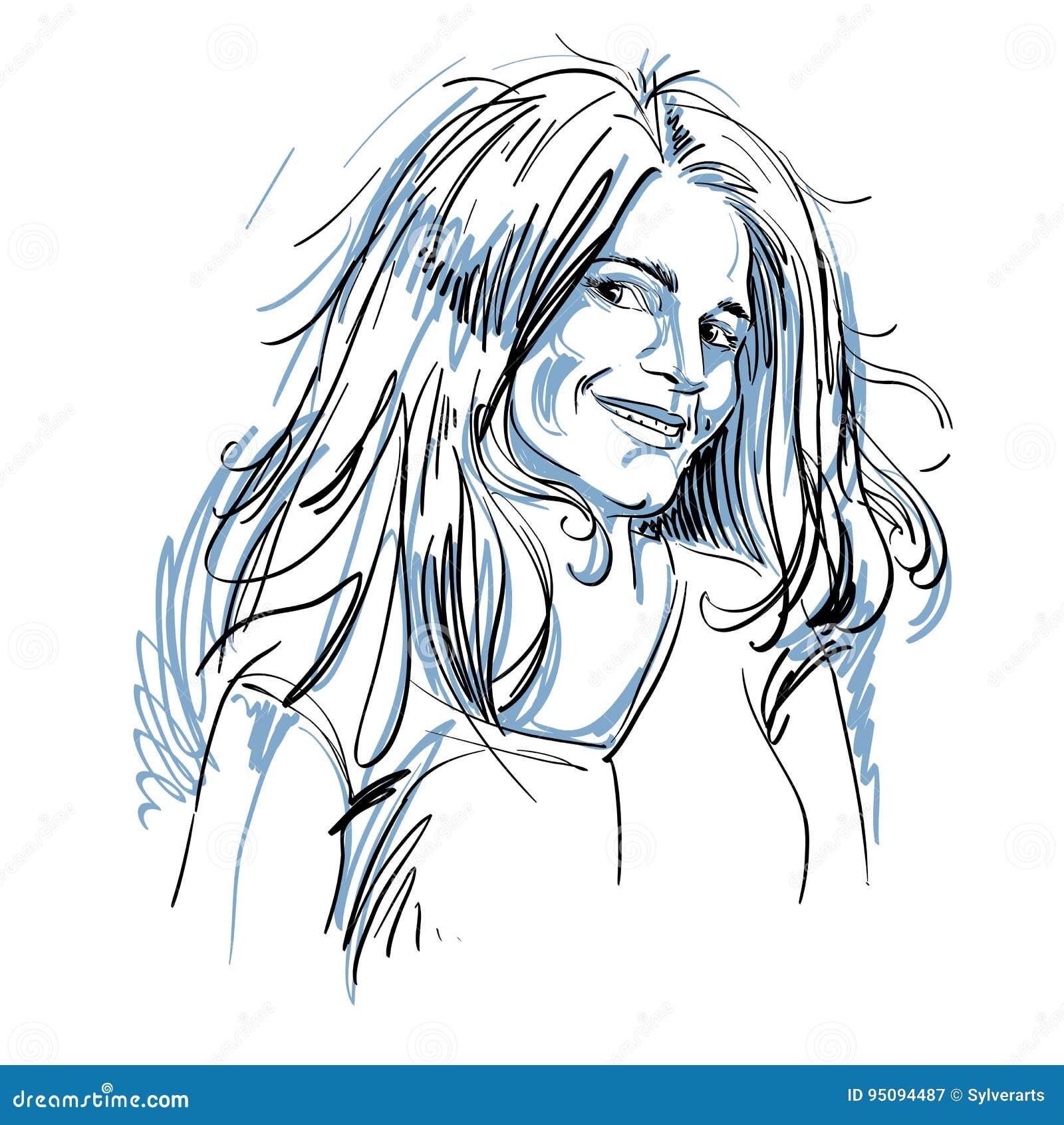 Portrait de femme de flirt belle sensible, de noir et de petit morceau