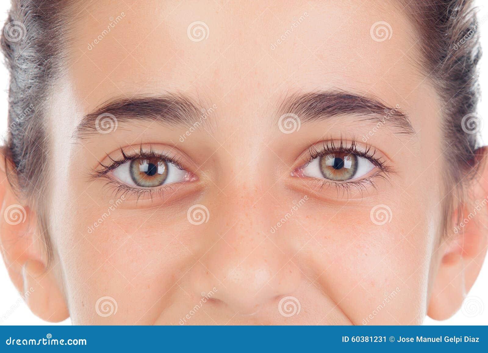 Flirter avec les yeux