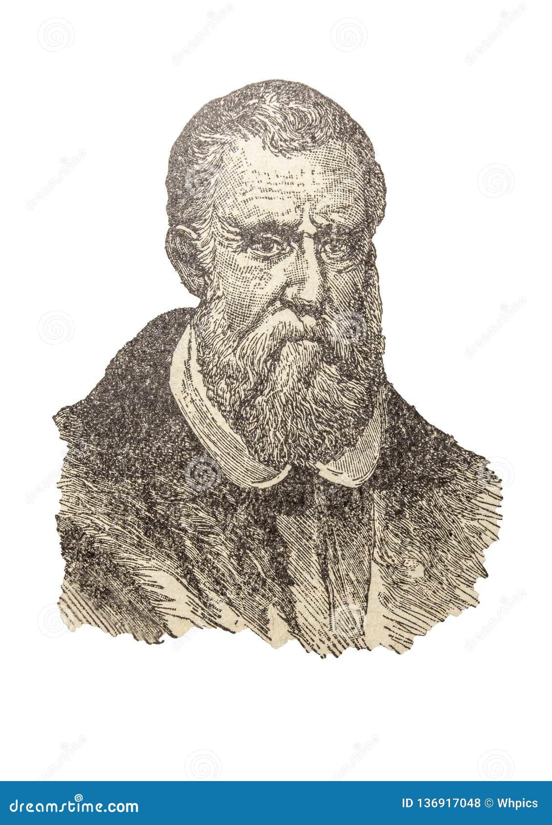 Portrait de Marco Polo, l explorateur