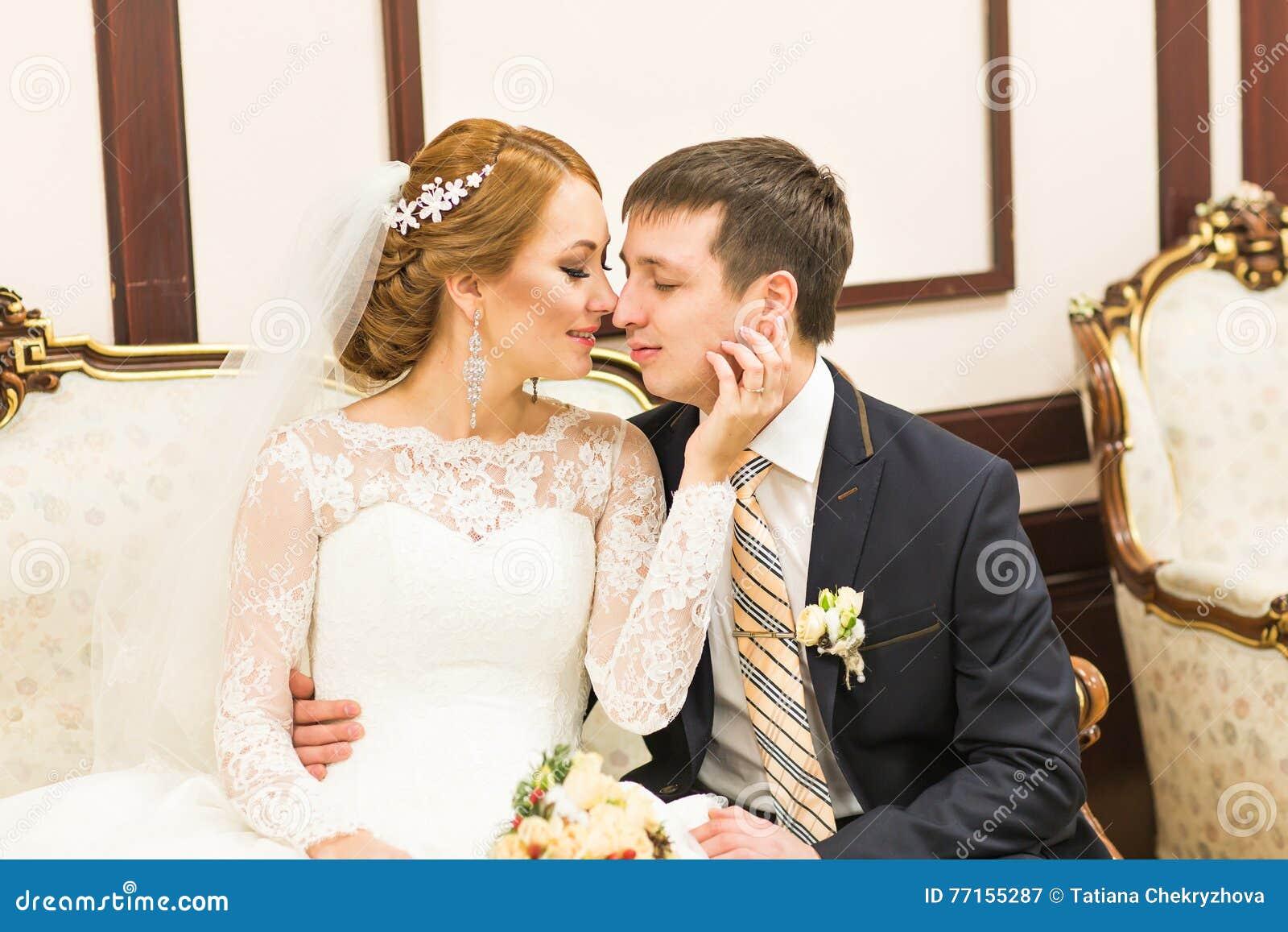Portrait de marié et de jeune mariée