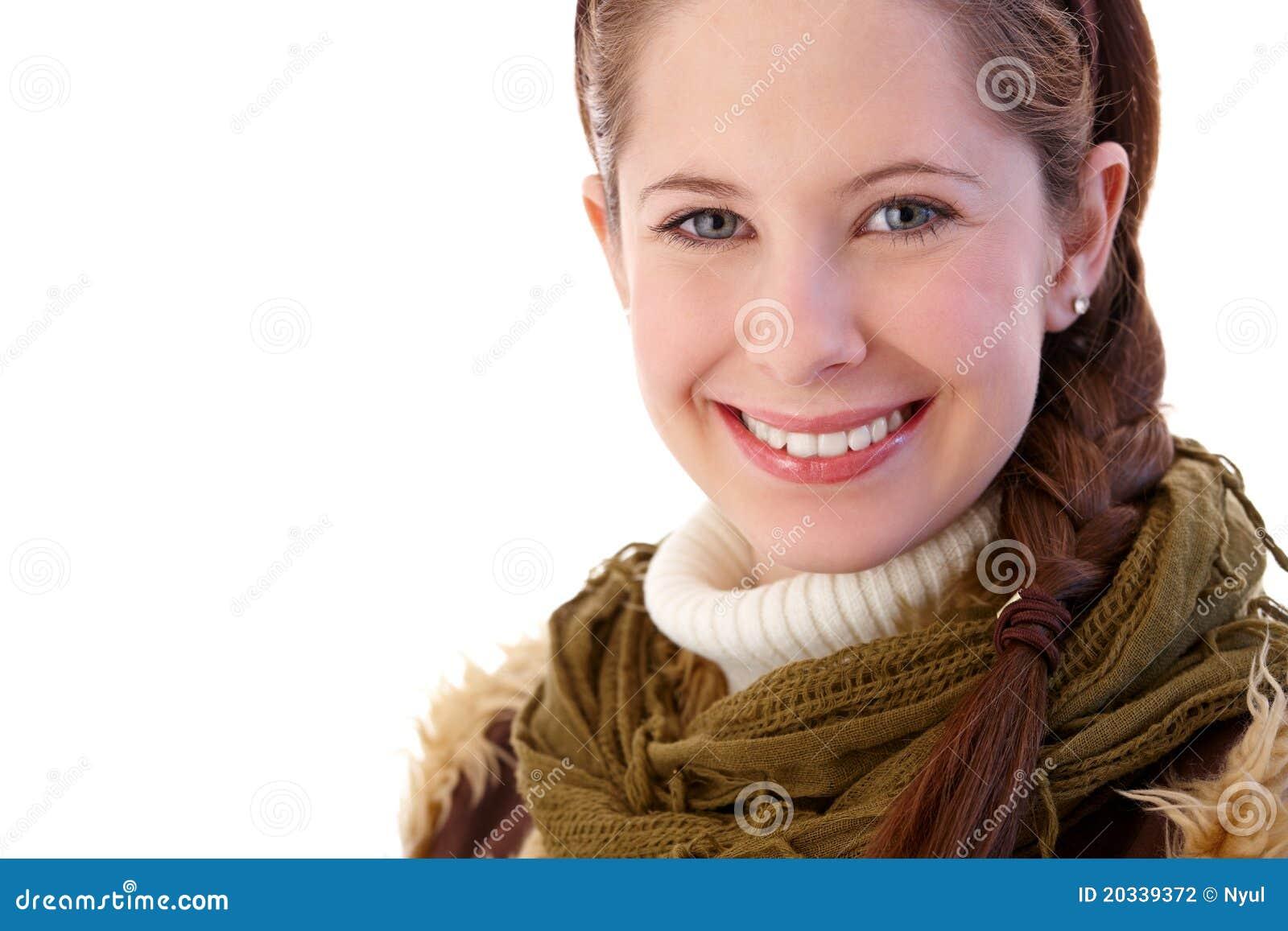 Portrait des hübschen Mädchens
