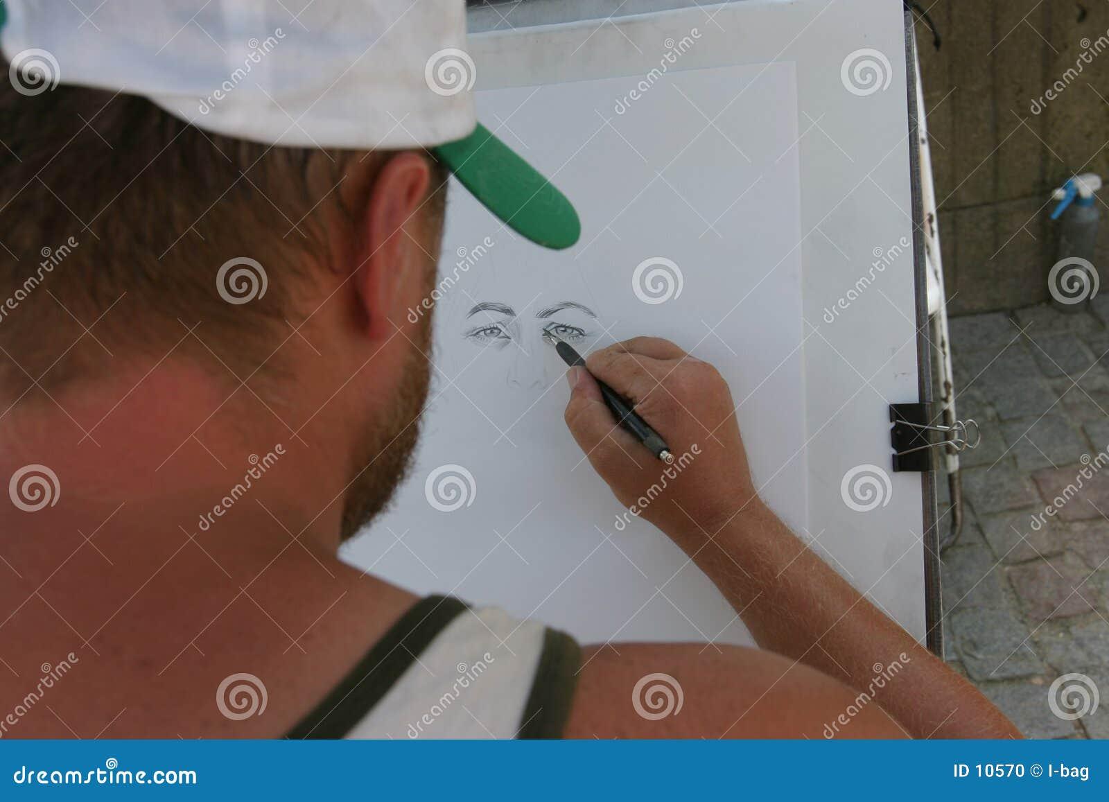 Portrait drawer