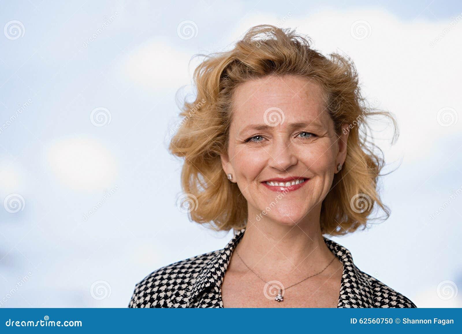 Portrait einer fälligen Frau