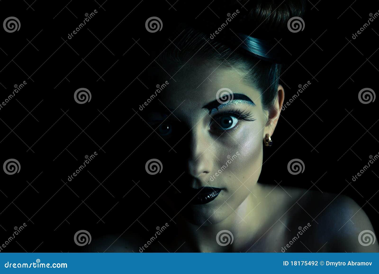 Portrait eines schönen Mädchens