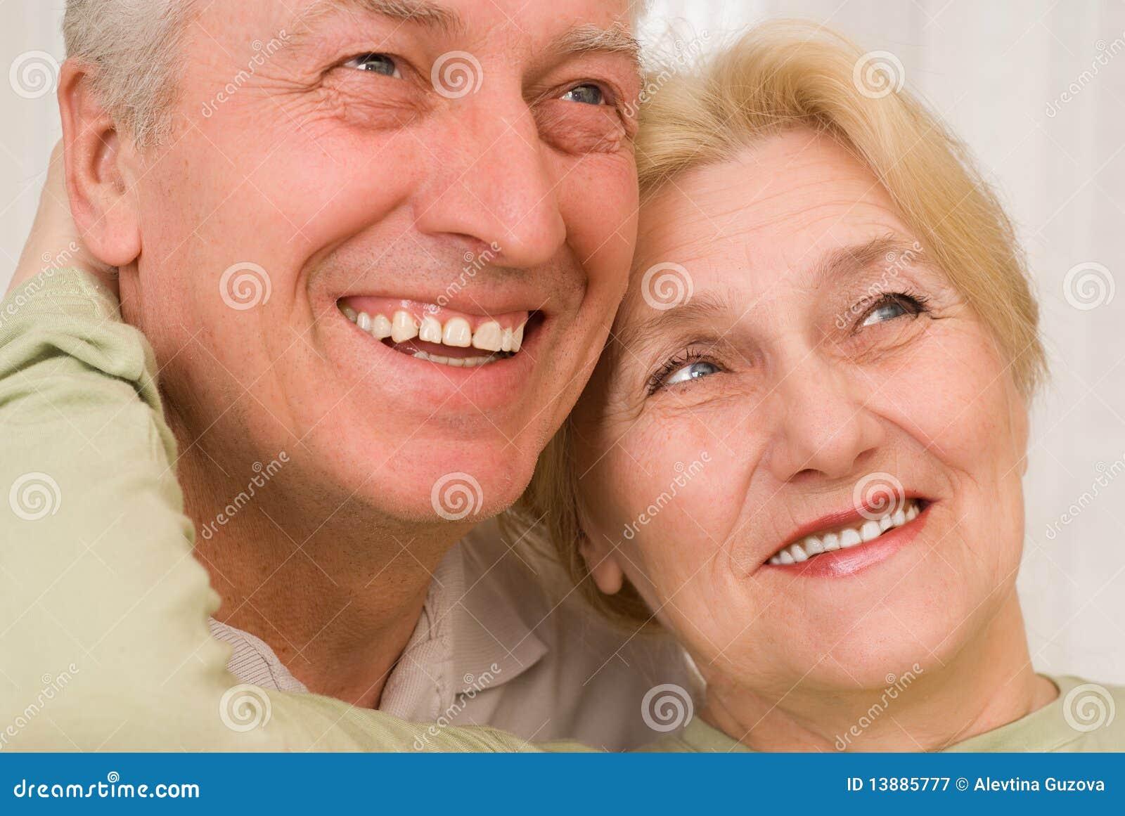 Portrait eines schönen Paares