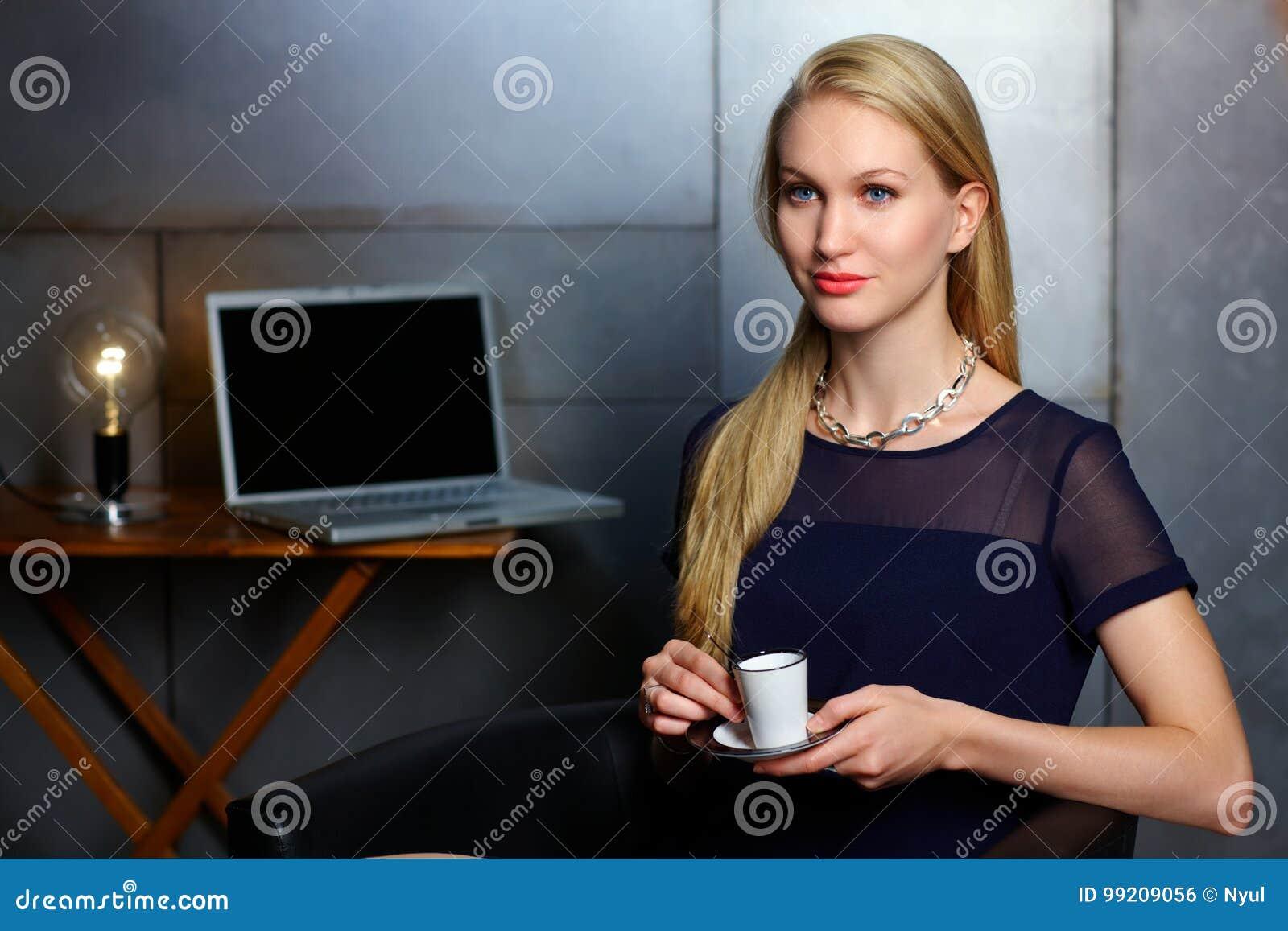 Portrait of nordic businesswoman