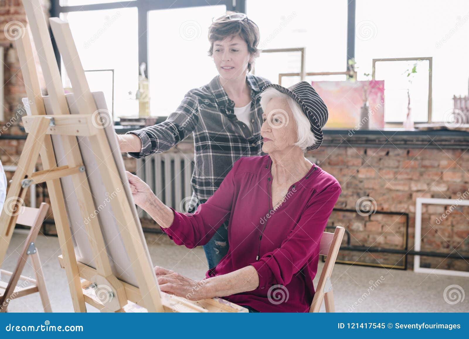 For that Women posing for art classes