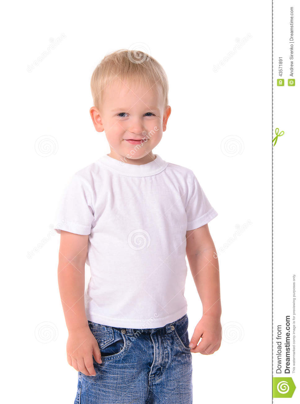 4 Year Boy Bedroom Decorating Ideas: Portrait Of Fashionable Little Boy In White Shirt