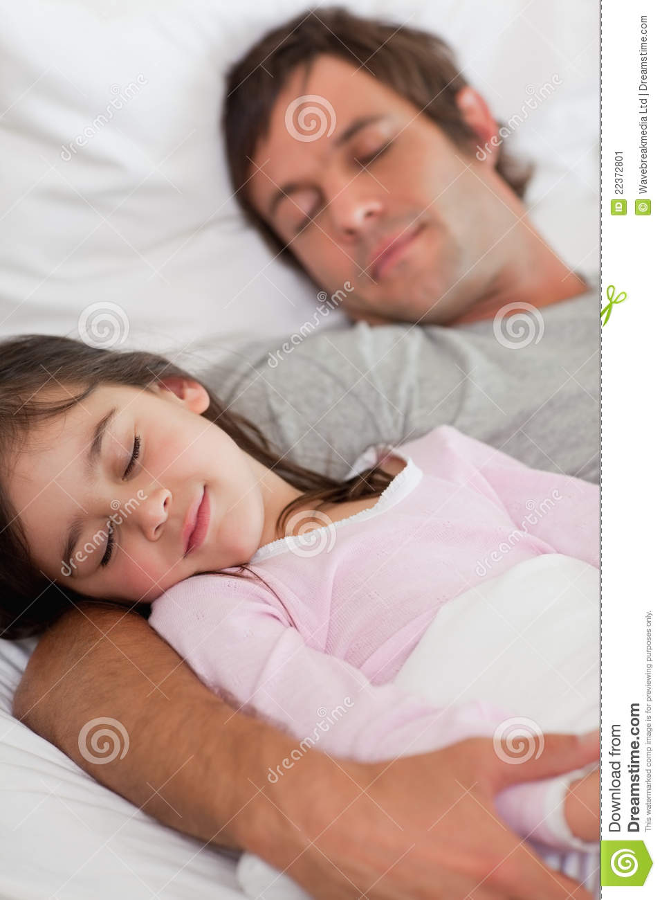 Daddy fucks sleeping daughter