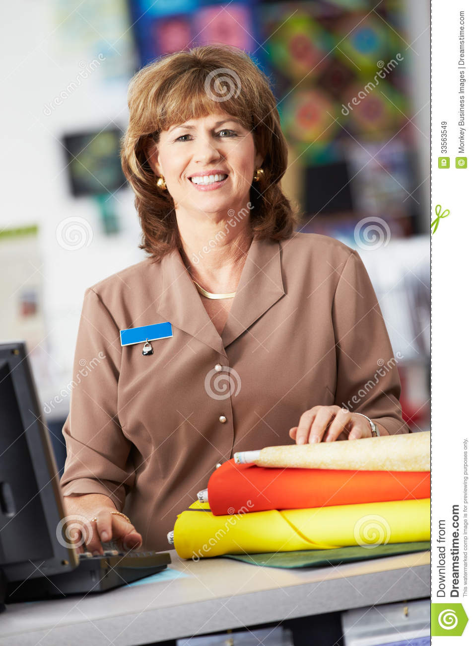 Female Mannequins In Clothing Store. Stock Photo, Picture And