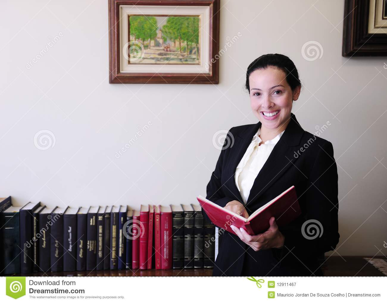Portrait of a female lawyer at office royalty free stock photography image 12911467 - Office portrait photography ...