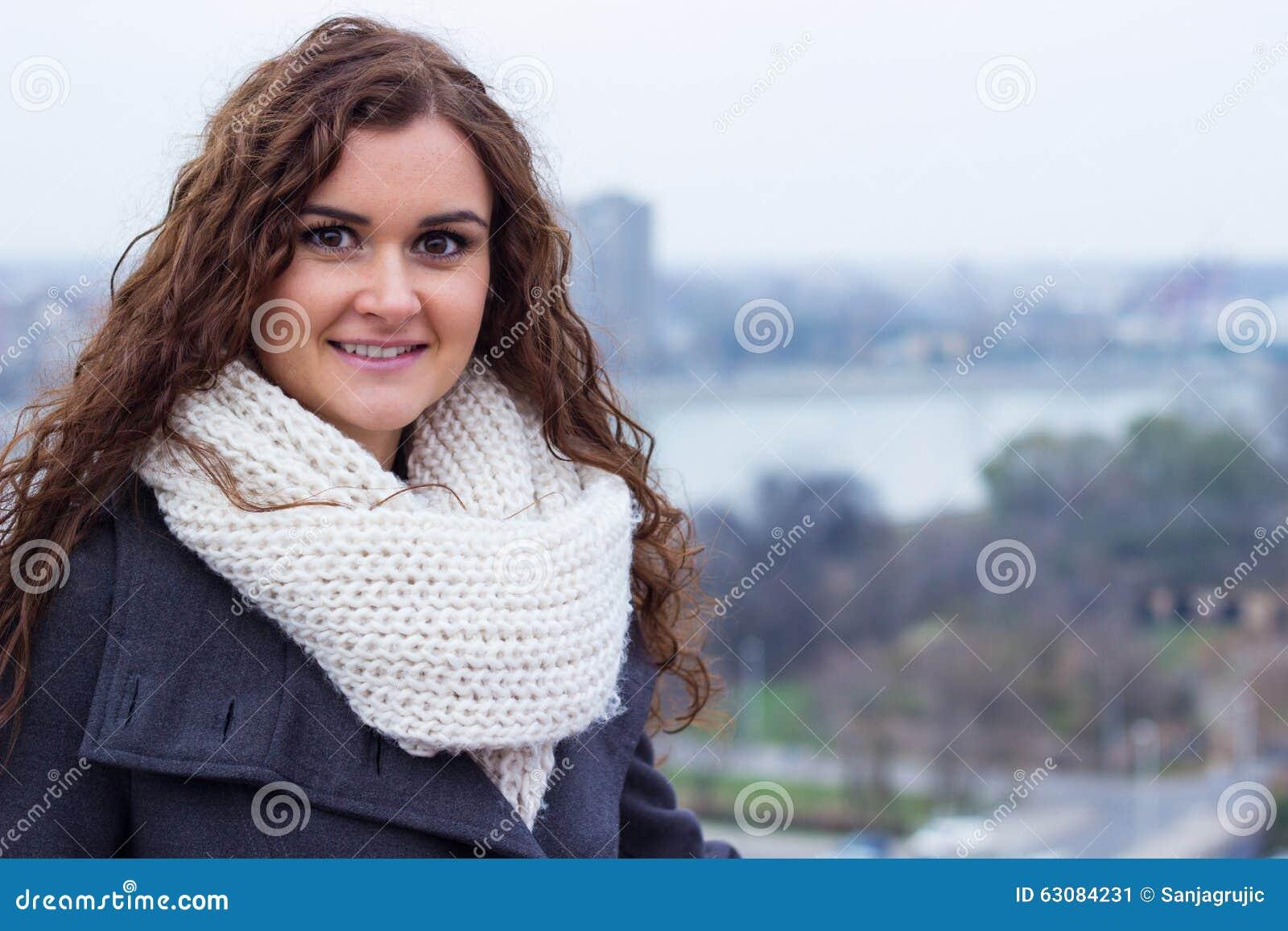 Download Portrait franc d'hiver image stock. Image du froid, santé - 63084231