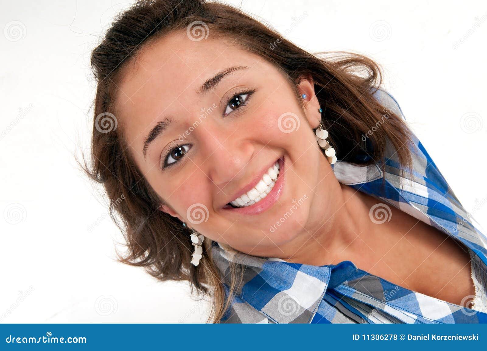 Portrait glücklich
