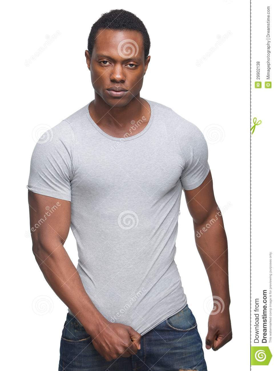 African american men with